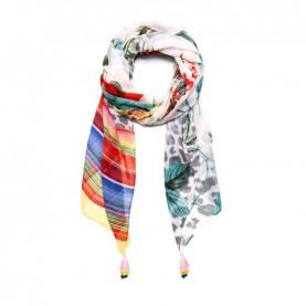 Desigual 19SAWF88 print foulard