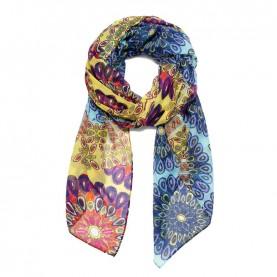 Desigual 19SAWF92 printed foulard