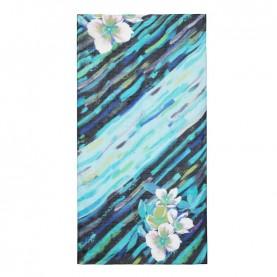 Desigual 21SAWA09 blue rectangular foulard
