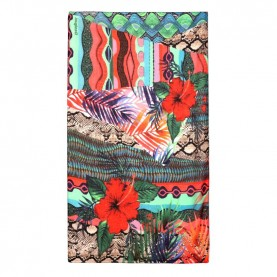 Desigual 21SAWA44 exotic rectangular foulard