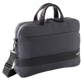 Nava EP007DG Easy plus dark grey Double-Handle Briefcase With Laptop And Ipad Pockets