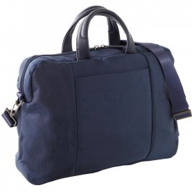 Nava EP007NB Easy plus navy blue Double-Handle Briefcase With Laptop And Ipad Pockets