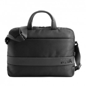 Nava ED019NN Easy advance black slim briefcase
