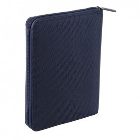 Nava EP880NB Easy plus blue A5 Size Portfolio With Tablet Case