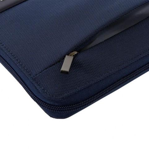 Nava EP880NB Easy plus blue A5 Size Portfolio With Tablet Case