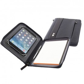 Nava EP880DG Easy plus dark grey A5 Size Portfolio With Tablet Case