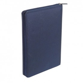 Nava EP875NB Easy plus blue Portfolio With Zip Closure