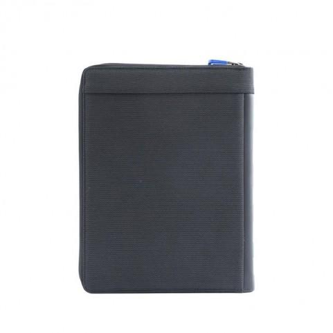 Nava CO875NCB Cross A4 zip portfolio with tablet pocket Black/Blue