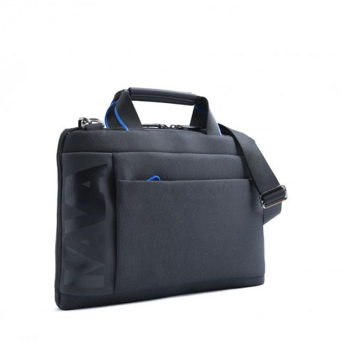 Nava CO019NCB Cross black/grey slim briefcase