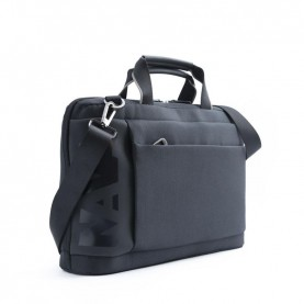 Nava CO007NGR Cross black/grey briefcase