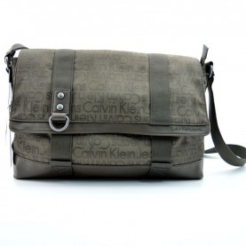 Calvin Klein CEP020 messenger brown