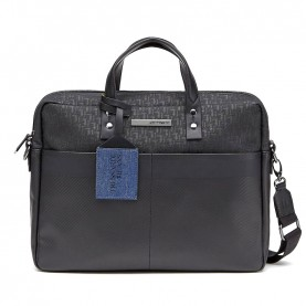 Trussardi Jeans 71B00076 Bocconi black briefcase