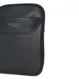 Trussardi Jeans 71B00117 Business shoulder bag black