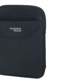 Trussardi Jeans 71B00117 Business nylon shoulder bag black
