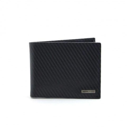 Momo Design MD500 01A carbon black wallet
