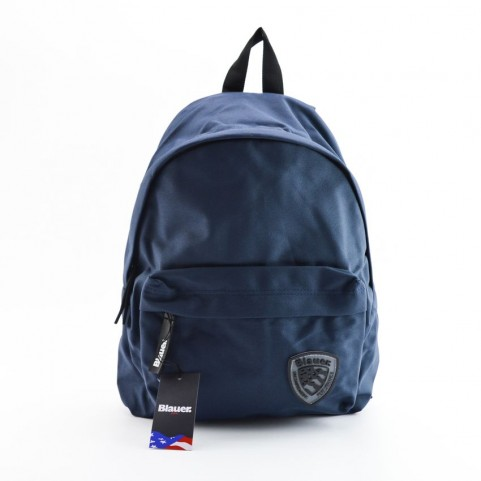 Blauer BLZA00670T navy small backpack