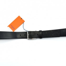 Trussardi jeans 71L00091 black leather belt
