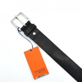 Trussardi jeans 71L00091 black leather belt