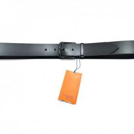 Trussardi jeans 71L00081 black leather belt