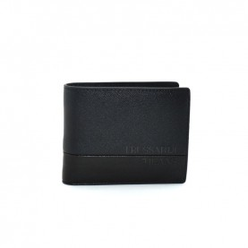 Trussardi jeans 71W00119 black wallet with coin pocket