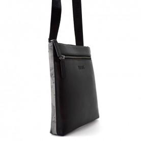 Alviero Martini G544 asphalt geo leather crossbody bag