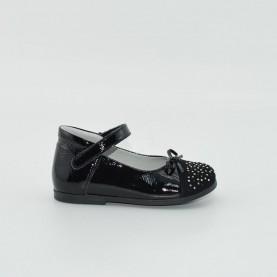 Morelli H53618 girl ballet flat black