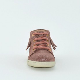 Walkey 60250 baby girl powder pink shoes