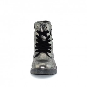 Wrangler WG18260K rocky girl gun metal lace ups boots