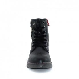 Wrangler WG18260K rocky girl black lace ups boots