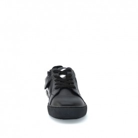 Holala HS0033L black leather sneakers