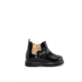 Alviero Martini N0437 girl black ankle boots