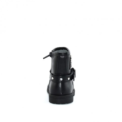 Gaelle G-080 black ankle boots