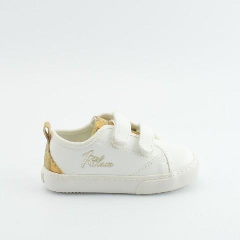 Alviero Martini 00180 baby white sneakers