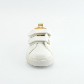 Alviero Martini 00180 baby white sneakers