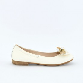 Alviero Martini N0243 girl flat shoes white