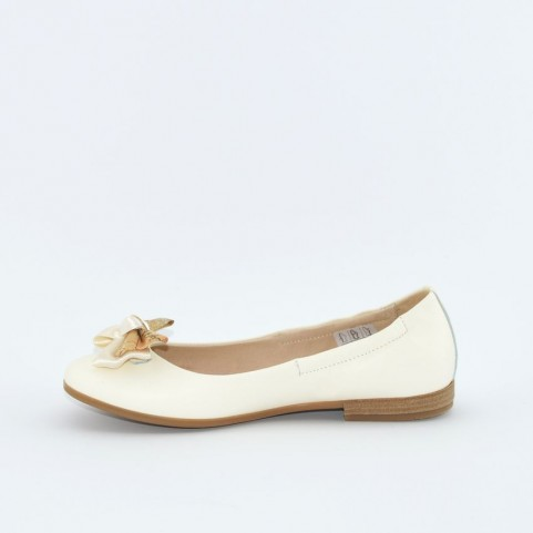 Alviero Martini N0243 girl flat shoes white