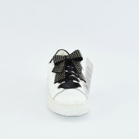 Holala HS0048L white and black leather sneakers