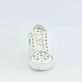 Holala HS0046L white leather sneakers