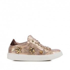 Morelli 50344 gold rose sneakers