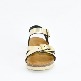 Goldstar 1846RY girl gold anatomical sandals