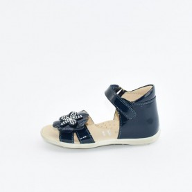 Morelli I53220C baby girl blue first steps sandals