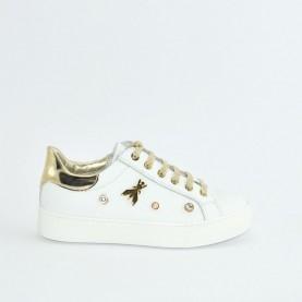 Patrizia Pepe PPJ14.27 sneakers white gold
