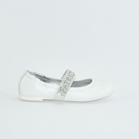 Patrizia Pepe PPJ27.06 white baby girl classic shoes