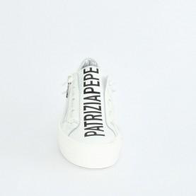 Patrizia Pepe PPJ10 sneakers white black