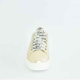 Gaelle G-201 ivory sneakers