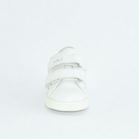 Gaelle G-280 white silver sneakers
