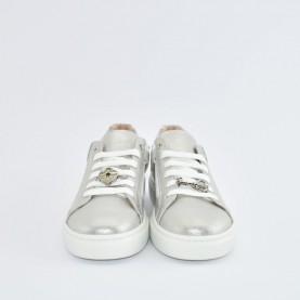 Morelli 50748 silver sneakers