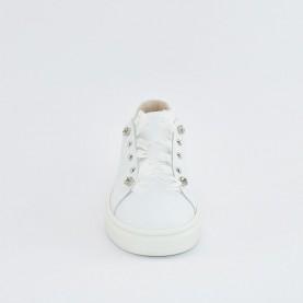 Morelli 50754 white slip-on