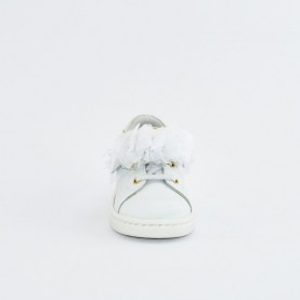 Walkey 40708 baby girl white first steps shoes