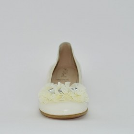 Morelli B53755 flat shoes milk